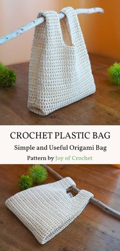Yarn Projects, Knitting Projects, Crochet Projects, Knitting Patterns, Sewing Patterns, Simple Crochet Patterns, Crochet Purse Patterns, Dress Patterns, Plastic Bag Crochet
