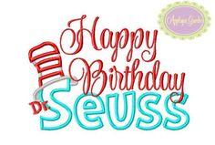 Dr. Seuss - Happy Birthday
