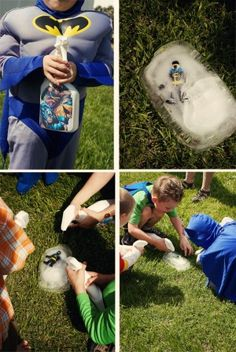 KINDERGEBURTSTAGS SPIEL Superhero party ideas 7