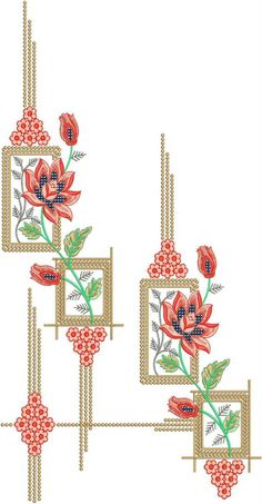 Most recent Free of Charge abstract Embroidery Designs Thoughts Embroidery is often a stunning solution to illuminate the house and a terrific hobby to spend time doing. Embroidery On Kurtis, Kurti Embroidery Design, Hand Embroidery Designs, Embroidery Patterns, Simple Embroidery, Japanese Embroidery, Flower Embroidery, Textile Patterns, Textile Prints