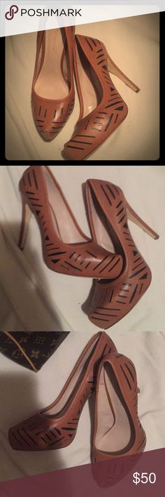 BCBGeneration size 8 Sexy classy beautiful BCBG HEELS almost new only worn it once excellent condition retails at $110 from asks fifth BCBGeneration Shoes Heels