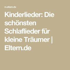 Kinderlieder: Die schönsten Schlaflieder für kleine Träumer | Eltern.de