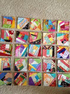 "Scappy 5"" squares by zzbstl, via Flickr"