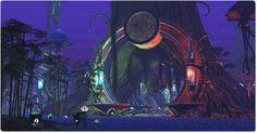 Faery Court and Sanctum Giant Tree, Cycle Of Life, Fantasy, Faeries, Dusk, World, Fairies, Fantasy Books, Fantasia