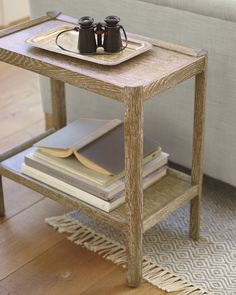 Clean lines and smaller proportions give this piece a modern look that's perfect for small spaces. You'll have a hard time deciding where this cerused oak side table looks more beautiful. Furniture Styles, Upholstered Furniture, Unique Furniture, Dining Room Furniture, Rustic Furniture, Furniture Vintage, Furniture Ideas, Furniture Dolly, Furniture Movers