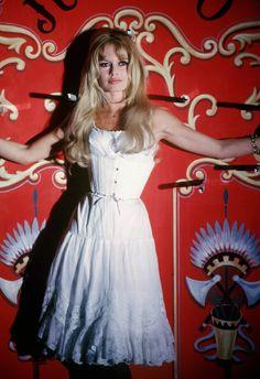 """missbrigittebardot: """"Brigitte Bardot on the set of """"Viva Maria"""", 1965. """""""