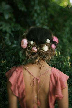 boho bridesmaid style