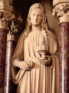 Gospel of Mary Magdalene Gospel Of Mary, Gospel Of Luke, Religious Studies, Religious Art, Who Is Mary Magdalene, Santa Maria Magdalena, Jesus Tomb, Catholic Art, Sacred Art