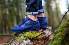 #sneakers Air Max 90 Independence Day Navy
