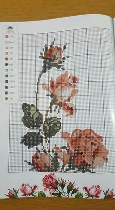 Name: Aufrufe: 16 Größe: KB (Kilob … / simplephotolife.This Pin was discovered by ÖzlDiscover thousands of images about Toalha de Banho de Ponto de Cruz Rosas - / Cross Stitch Bath Towel Roses - Cross Stitch Rose, Cross Stitch Borders, Cross Stitch Flowers, Cross Stitch Designs, Cross Stitching, Cross Stitch Patterns, Beaded Embroidery, Cross Stitch Embroidery, Hand Embroidery
