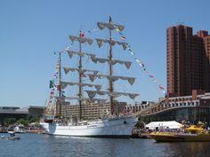 Tall ship, Cuauhtemoc (Mexico)