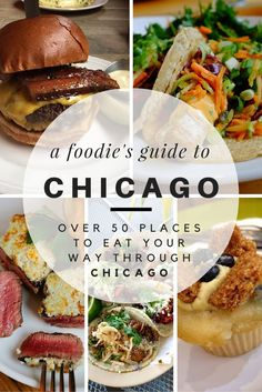 If you need one reason to visit Chicago, do it for the food. Browse this guide of over 50 places to eat your way around Chicago's delicious food scene. delicious food A Foodie's Guide to Eating Around Chicago — The City Sidewalks Visit Chicago, Chicago Travel, Travel Usa, Chicago Trip, Food In Chicago, Chicago Vacation, Chicago To Do, Chicago Recipe, Travel Tips