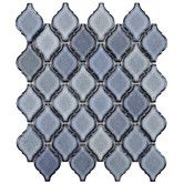 "Here is the same one Lauren found: Found it at Wayfair - Arabesque 9.88"" x 11.13"" Porcelain Mosaic Tile in Orion"