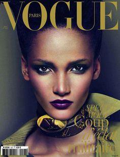 Liya Kebede est la première mannequin noire en couverture de Vogue ...