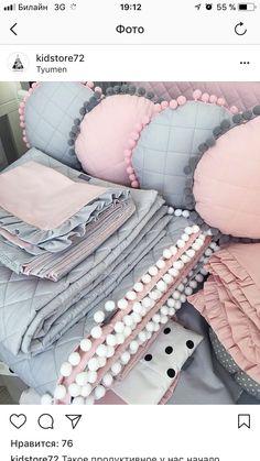 Almohadones y mas☆ Sewing For Kids, Baby Sewing, Baby Play, Baby Kids, Sewing Crafts, Sewing Projects, Sewing Pillows, Baby Pillows, Baby Crafts