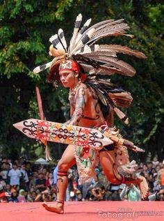 Dayak warrior - Borneo, Indonesia #Filipinotattoos
