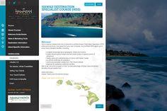 Hawaii Education Website by Jorge Bastidas, via Behance