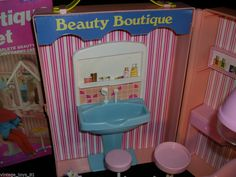 Sears Beauty Boutique Playset, c. 1982