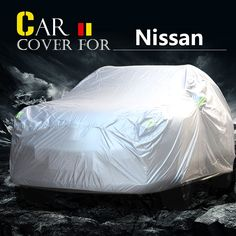 59.99$  Buy now - http://aliet6.worldwells.pw/go.php?t=32749215116 - Car Cover Outdoor Anti-UV Sun Shade Rain Snow Dust Protector Cover Waterproof For Nissan Armada Micra Rogue Cefiro Maxima Cima 59.99$