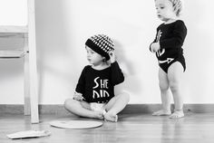 Little Picasso with MyTwins collection! Winter Collection, Picasso, Onesies, Baby, Kids, Clothes, Fashion, Young Children, Outfits