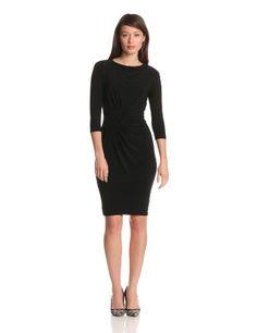 Adrianna Papell Women's Asymmetrical Rouched Dress, Black, 6 Adrianna Papell,http://www.amazon.com/dp/B00A0I6NDU/ref=cm_sw_r_pi_dp_51YZsb1RY6299SAY