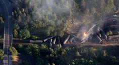 Railroad says broken bolt caused Oregon train derailment