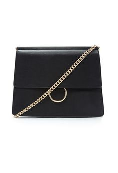 Loop Handle Faux Leather Crossbody | Forever 21 - 1000184930