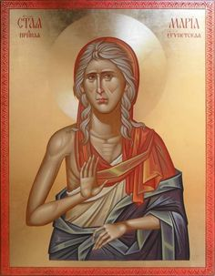 St. Mary of Egypt. She is commemorated on the 5th Sunday of the Great Fast as well as Apr. 1, her actual feast day.