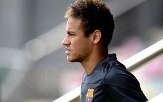 Neymar vai estrear na Champions justamente em seu jogo de número 300 (Foto: Agência AFP)18/09/2013.