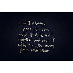 Even from far far away