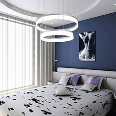 187.06$  Watch here - http://aliqw5.shopchina.info/go.php?t=32343013214 - LED Stepless dimming  Fash  Modern Contracted Design Mini Pendant LED Ring Ceiling Lamp with 110-240V  2 Lamp  40W  #shopstyle