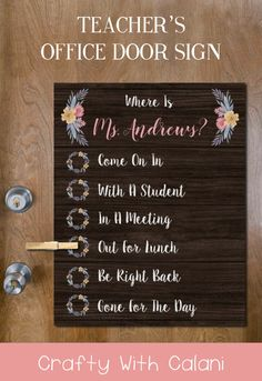 Living Rooms Bedroom Funny Home D/écor for Garages Indoor//Outdoor Offices SignMission Wall Lover Gag Gift Sign Wall Plaque Decoration English Teacher Novelty Sign