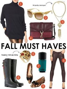 Fall Must-Haves #style #falltrend