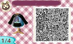 "animalcrossing-nl-qrcodes: "" I made the shirt I was wearing today. """