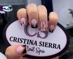 Beauty Nails, Hair Beauty, Black Nails, Spring Nails, Cute Nails, Hair And Nails, Acrylic Nails, Nail Designs, Nail Art