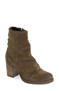 Bos. & Co. 'Barlow' Waterproof Suede Bootie (Women) available at #Nordstrom