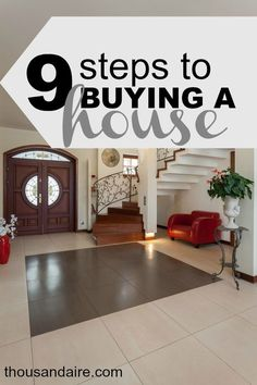 There are nine big steps to buying a house and we are done with eight of them. These steps can end up being a little more stressful than they seem!