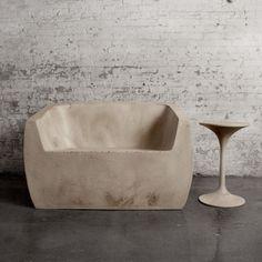 Concrete Love Seat