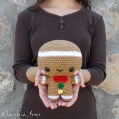 Meet Spice the Gingerbread Man