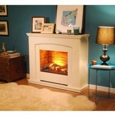 Dimplex Alameda Freestanding Opti-myst Electric Fire Suite - ALM20