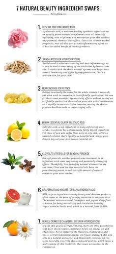 7 Natural Beauty Ingredients That Actually Work | http://helloglow.co/7-natural-beauty-ingredients-actually-work/