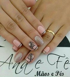 Glam Nails, Nude Nails, Beauty Nails, Manicure 2017, Nail Manicure, Hair And Nails, My Nails, Wonder Nails, Coffin Nails Ombre