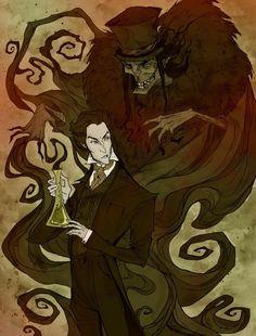 Jekyll and Hyde by AbigailLarson on deviantART