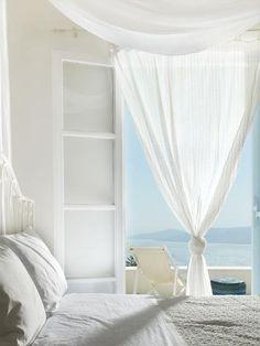 Estilo mediterráneo en una casa en la playa   Decorar tu casa es facilisimo.com