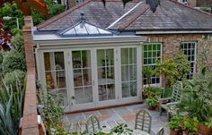 Explore Westbury Garden Rooms' case studies: glass garden rooms through to wooden orangeries, conservatories, pool houses and kitchen extension projects. House Design, Garden Room Extensions, Exterior Design, Pool Houses, House, Garden Room, Orangery Extension, House Exterior, Kitchen Extension