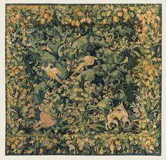 Tapisserie Feuilles de Choux Flandres, XVIe siècle 320 x 330 cm