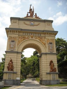 Arco de la Federación. El Calvario. Caracas 2011