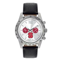 NC State Wolfpack Letterman Watch
