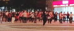 Public dancing in China! Dancing, Soccer, Public, Futbol, Dance, European Football, European Soccer, Football, Soccer Ball