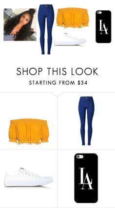 """""""SLAY"""" by hoeforalex ❤ liked on Polyvore featuring Apiece Apart, Converse and Casetify"""